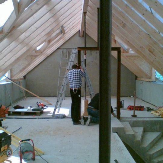 Haus mit Pool in Winningen - Bauphase 10