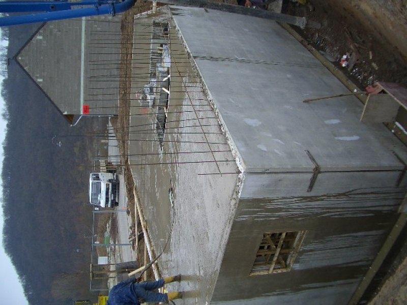 Haus mit Pool in Winningen - Bauphase 1