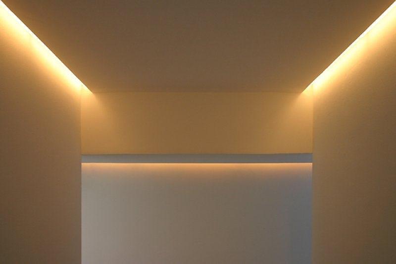 Lichtschlitze Treppe