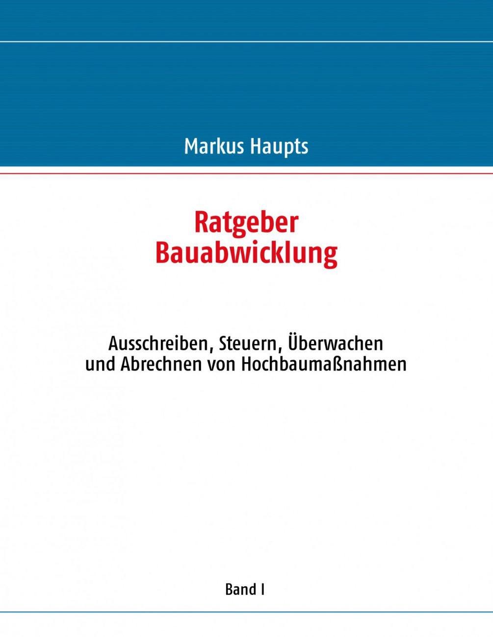 383347596X Ratgeber Bauabwicklung