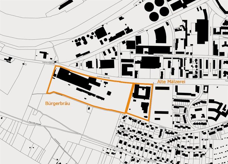 Lageplan Workshop Würzburg