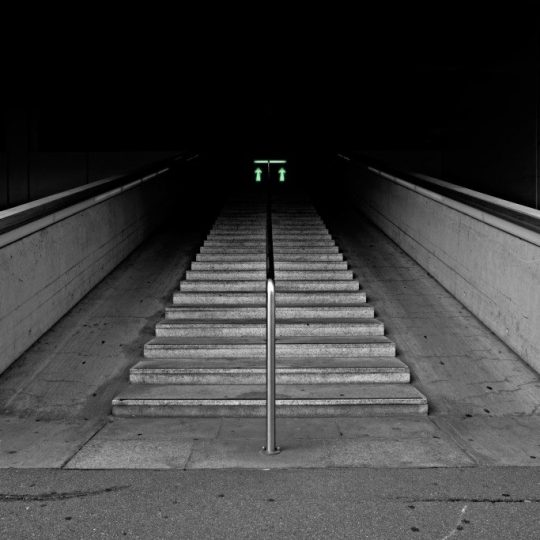 Treppe Stimmung