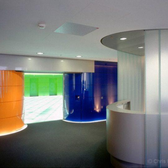 Interieur im Trianon Hochhaus in Frankfurt Main