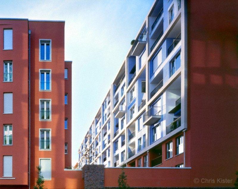 Wohnhaus im Westhafen Frankfurt Main