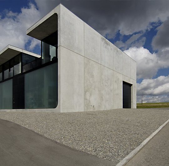 Haus Bold D-Bad Waldsee, Architekt: Thomas Bendel D-Berlin Foto © Nina Baisch