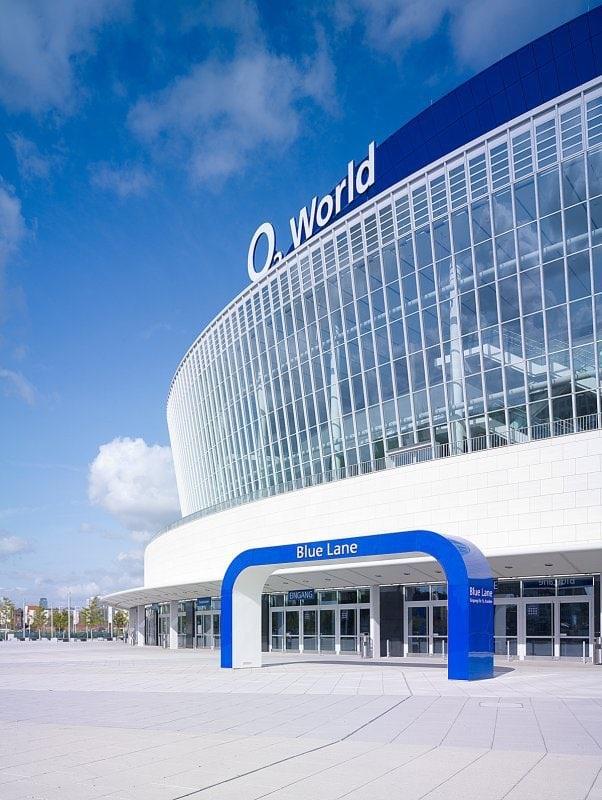 rick jannack o2world arena aussenansicht