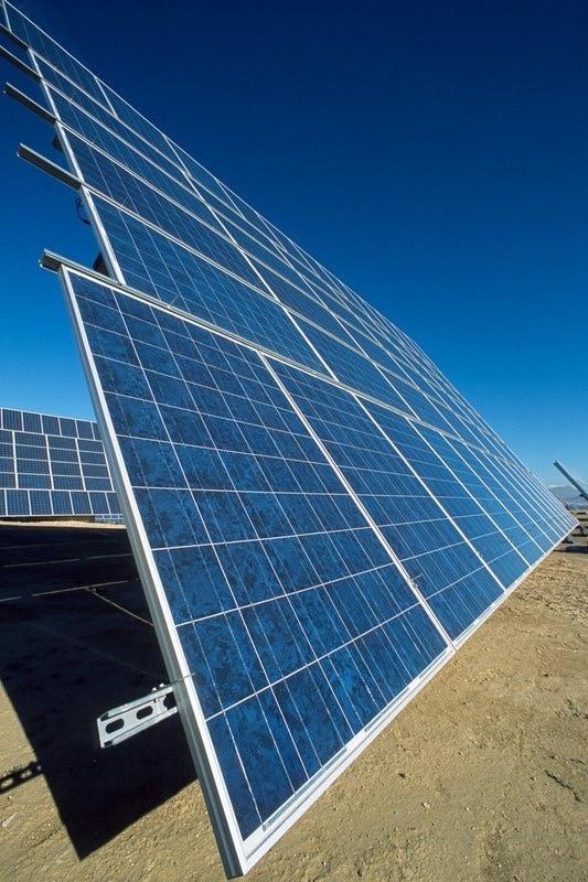 pv solar field gabias by Jens G. R. Benthien