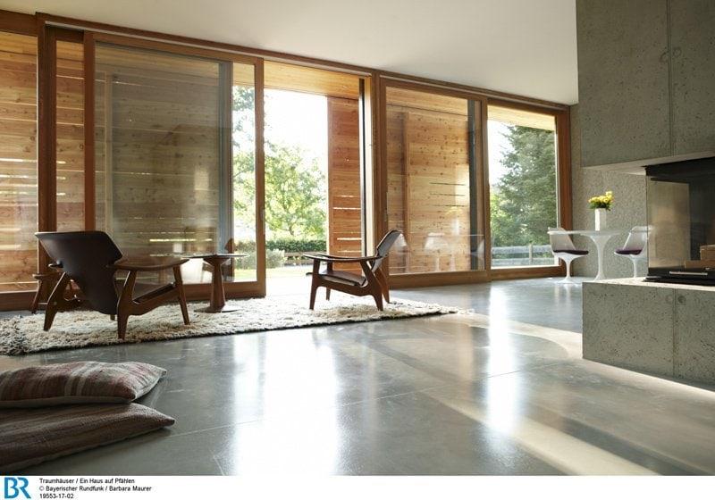 4 Interiors Wo Holz Und Beton Sich Treffen
