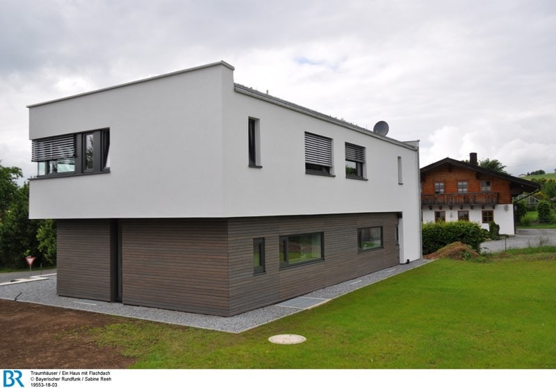 Magazin traumh user ein haus mit flachdach archimag for Gunstig bauen mit architekt