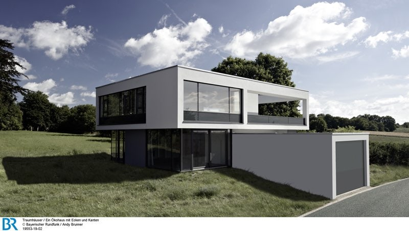 Klar strukturiert und dennoch komplex: der Baukörper. Bild: BR/Andy Brunner.