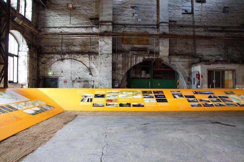 Impression der Ausstellung (c) Wohnen am Wasser