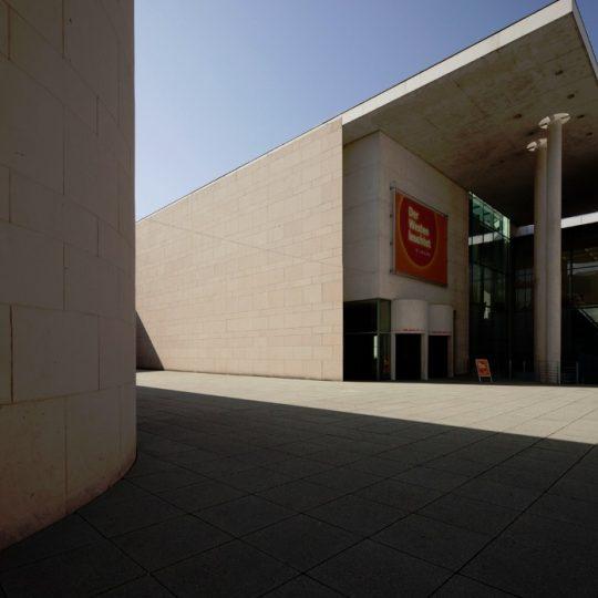 bernhard marks kunstmuseum bonn eingang