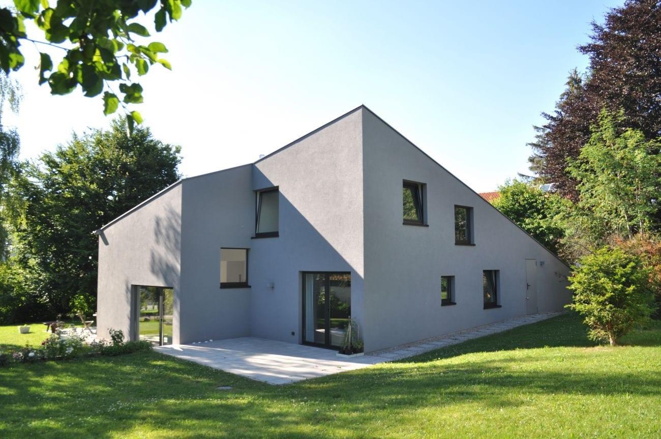Traumhäuser - Ein Haus mit gedrehtem First  2