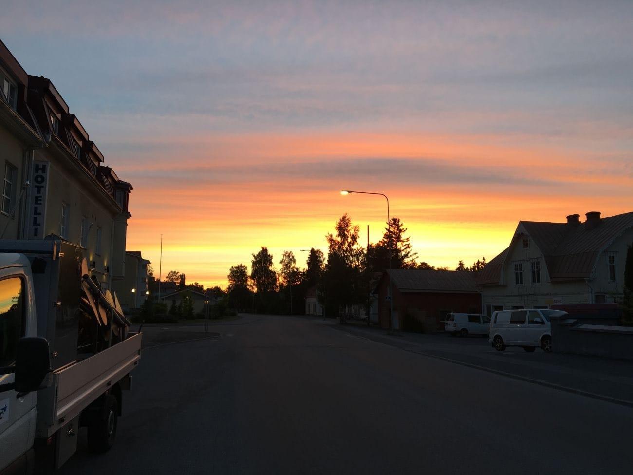 Mitternacht in Finnalnd