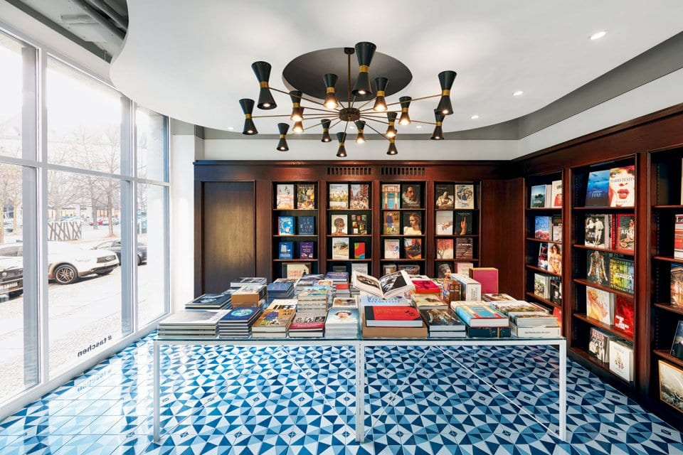 TASCHEN Store Berlin Copyright: Photo: Mark Seelen