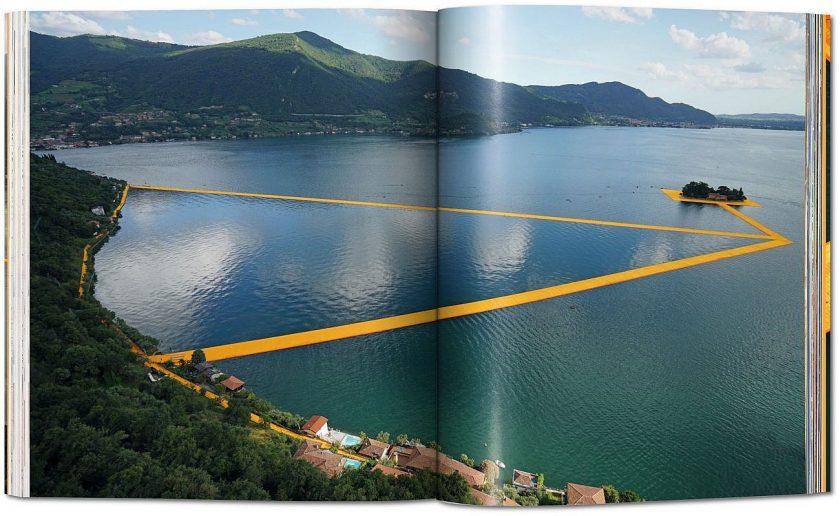 christo floating piers Auszug aus dem Buch