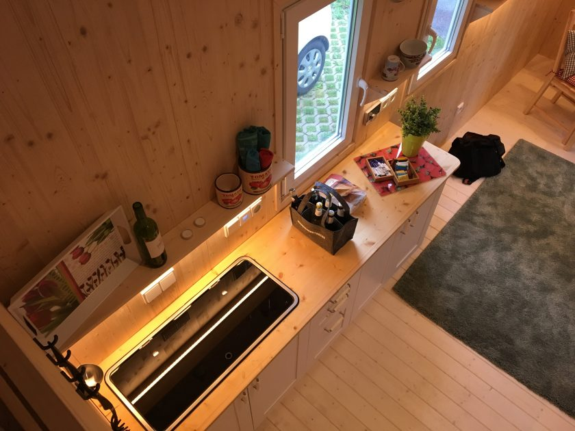 Küche im Tiny House Diekmann