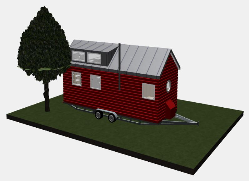 3D Tiny House (c) Diekmann