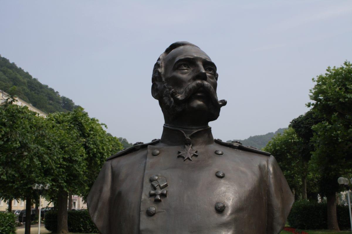 Alexander II - Kaiser von Russland 1818-1881 im Kurpark Bad Ems