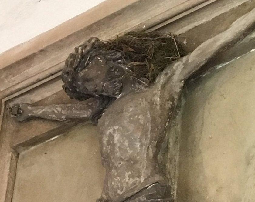 Jesus mit Vogelnest in St. Stephan