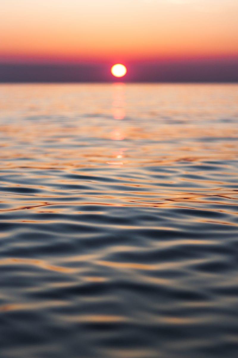 Meer, Sonne, Dänemark Photo by Jorik Kleen