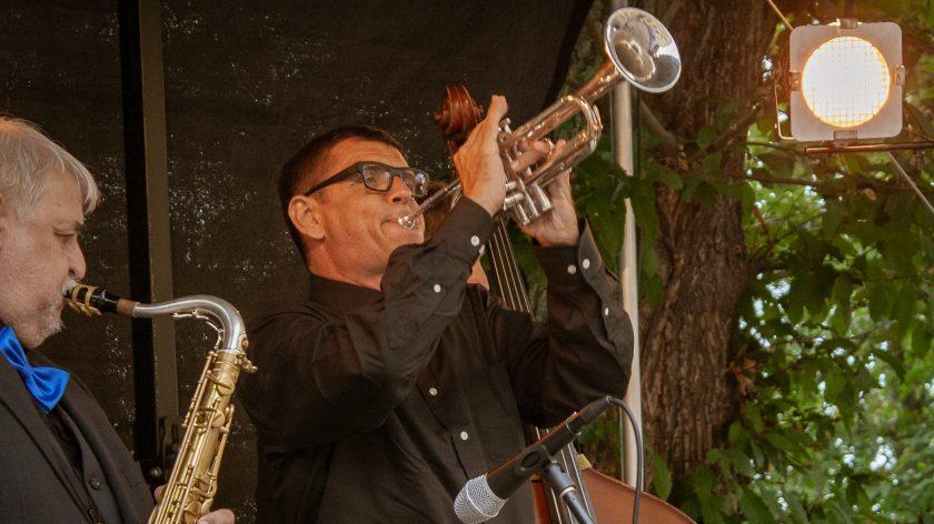 Jazzband auf dem Schlossfest