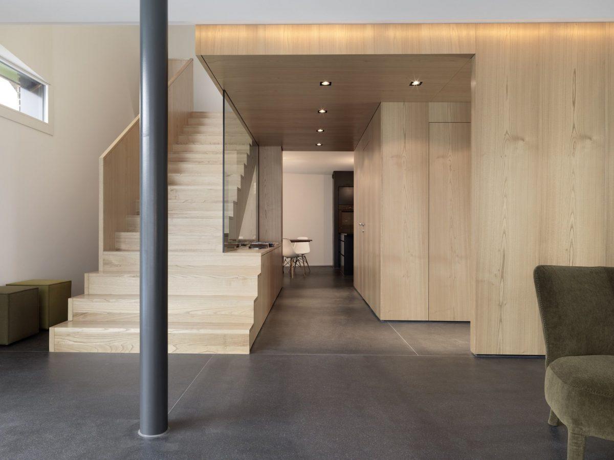 Treppe Haus S Dietilkon - Foto von Bruno Helbling, Zürich
