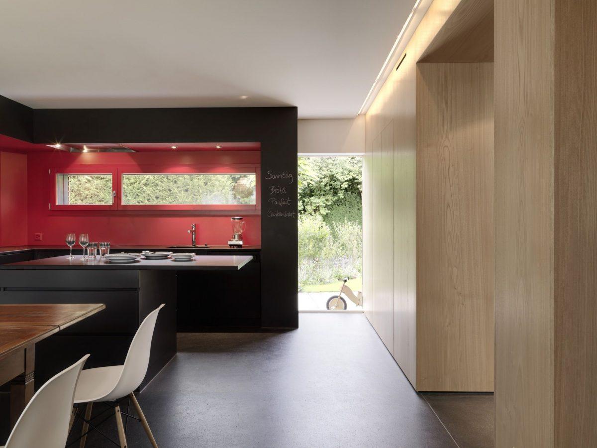 Küche Haus S Dietilkon - Foto von Bruno Helbling, Zürich