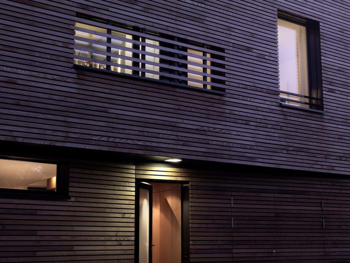 Detail Fassade Haus S Dietilkon - Foto von Bruno Helbling, Zürich