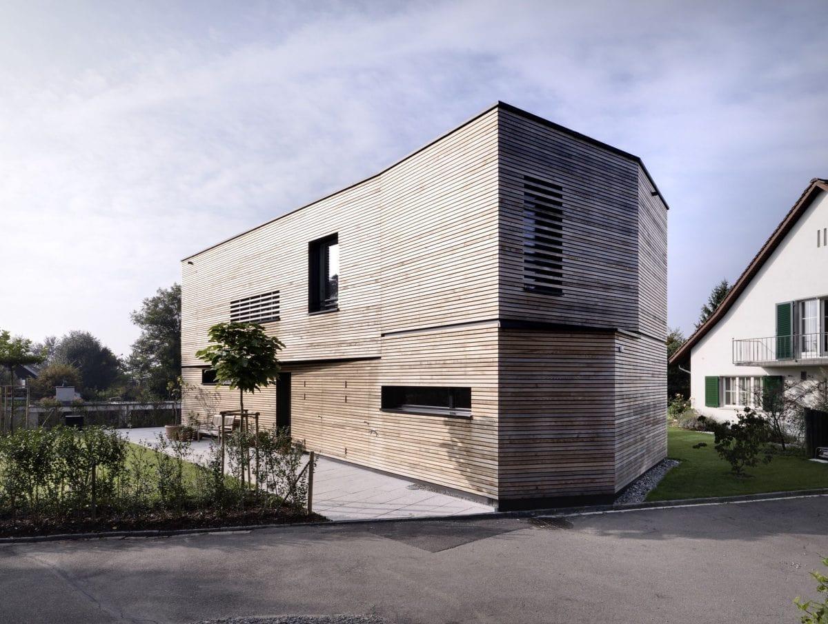 Außenansicht Haus S Dietilkon - Foto von Bruno Helbling, Zürich