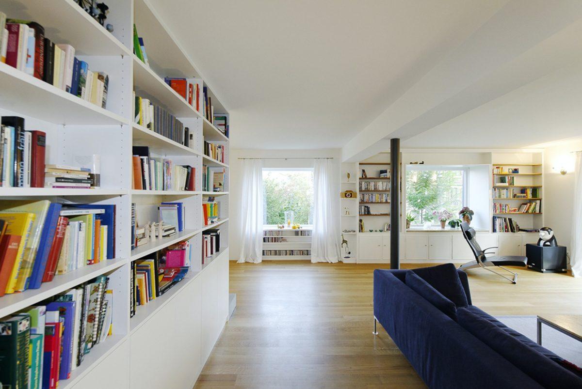 Trottenstraße Wohnzimmer Foto: M. Eggert